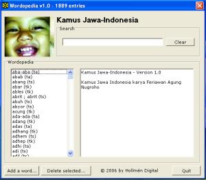 Kamus Jawa Indonesia